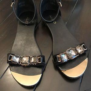 Aldo jeweled sandals